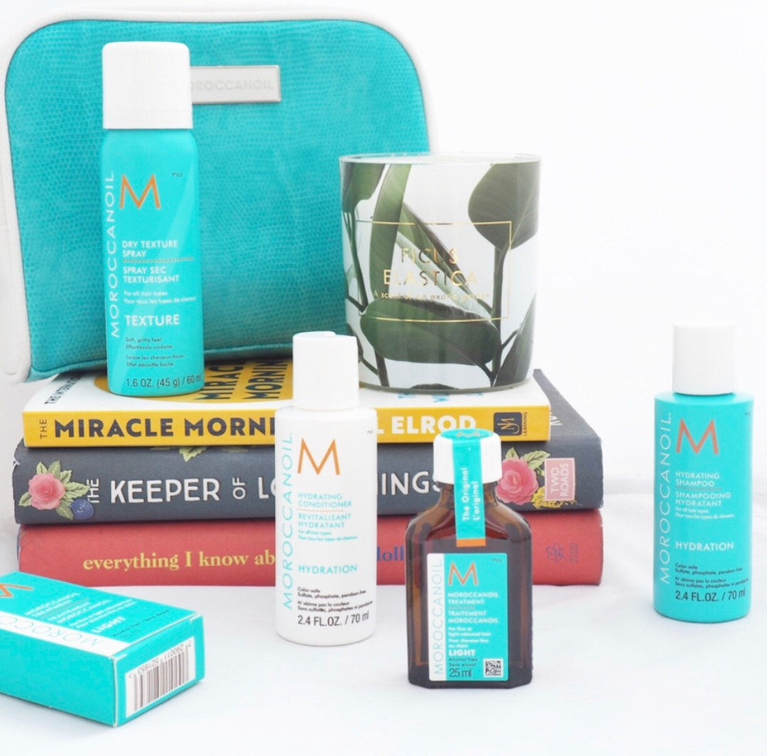 *MoroccanOil Destination Repair Travel Set Review