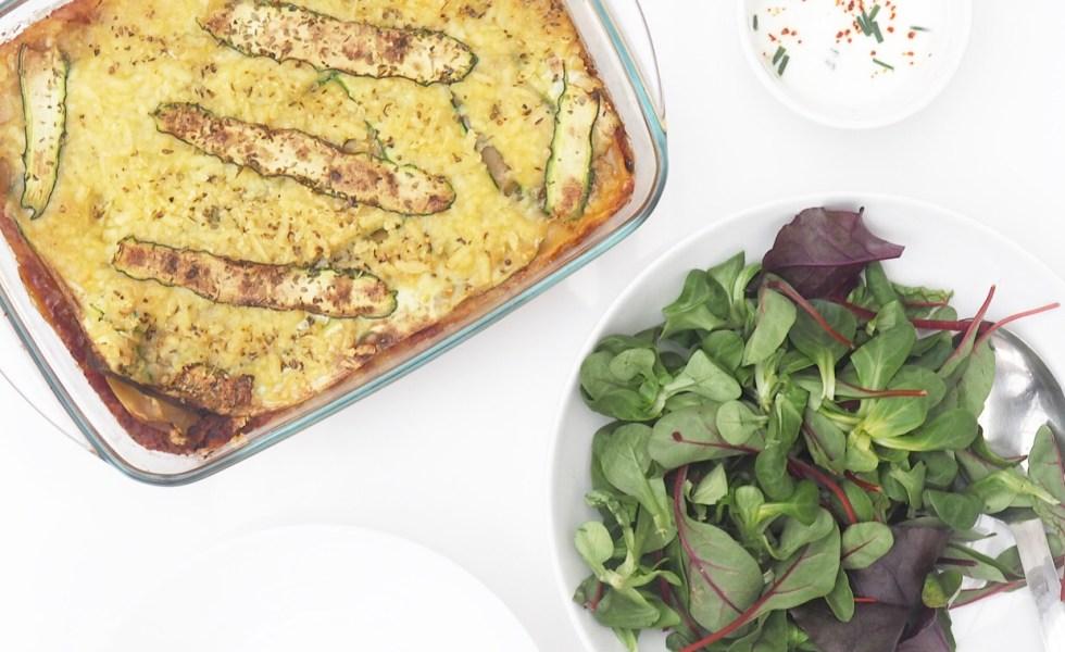 Courgette Lasagne Recipe