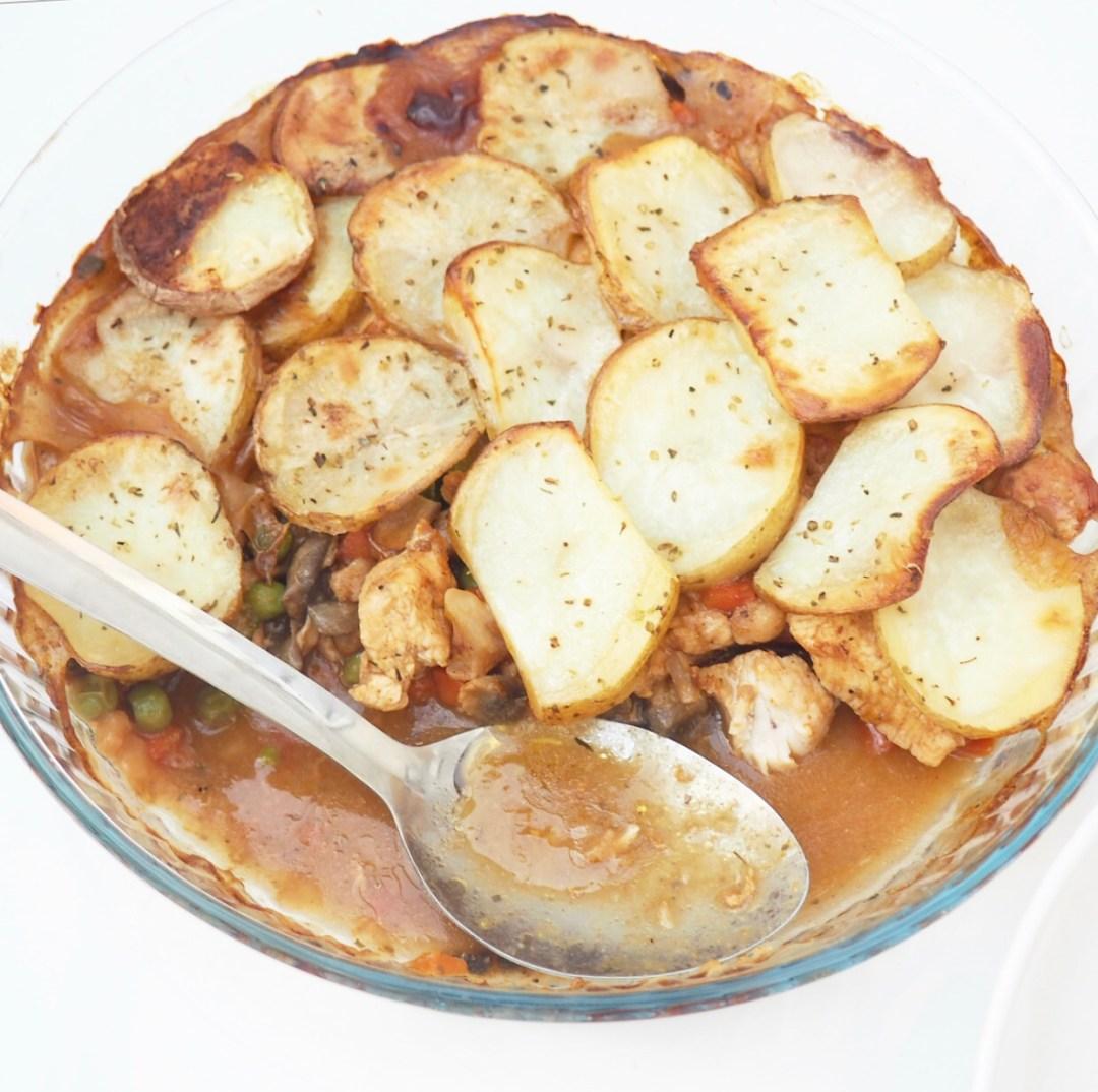 Chicken Hotpot Recipe