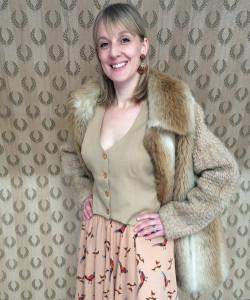 Helen pheasant skirt