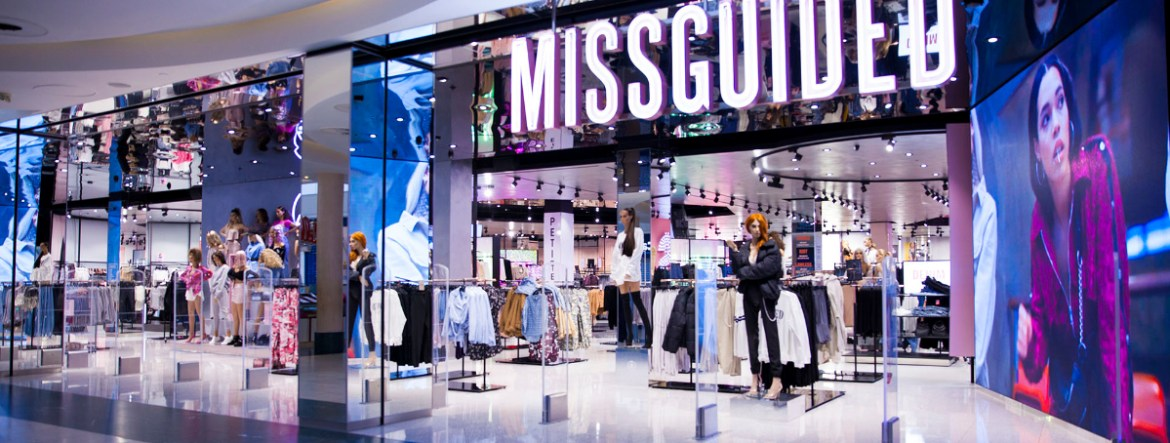 Missguided retail store
