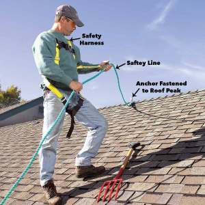 roofing safety wear