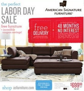 American Signature Furniture Weekly Ad Amp Flyer Specials