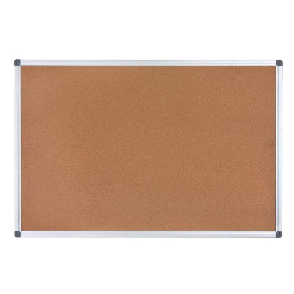 100% Natural Corkboard with Aluminum Frame & ABS Corners