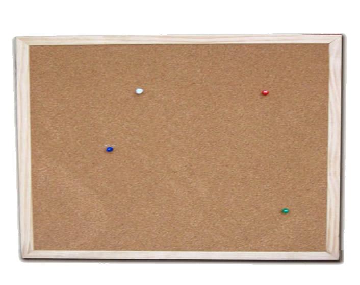 Pine Frame Corkboard Bulletin Board