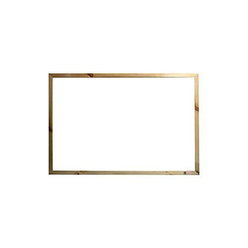 Natural Pine Wood Frame Non-Magnetic Whiteboard