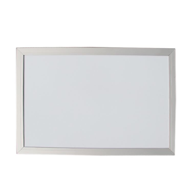 White Small MDF Frame Magnetic Whiteboard for Kids