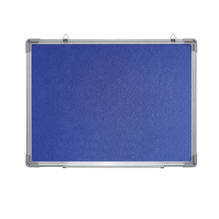 Fabric Covered Pin Boards With Silver Aluminum Frame