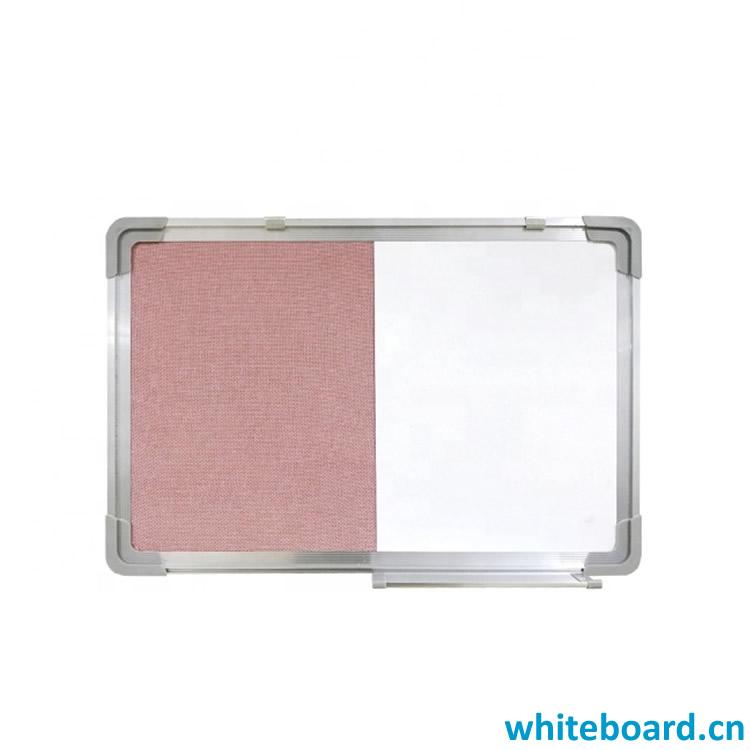 Felt Pin Board Dry Erase Board Combo