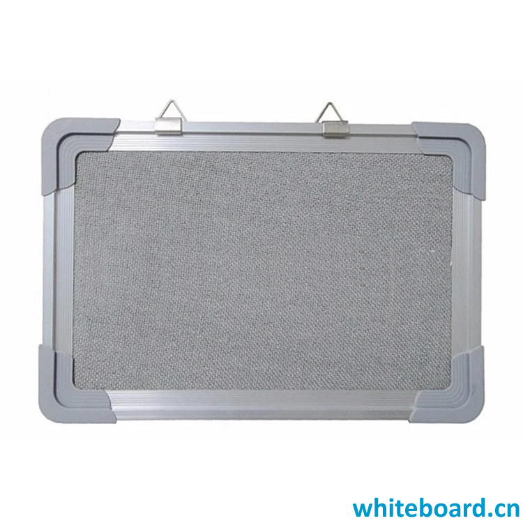 Gray Wall-mounted Hanging Notice Felt Boards