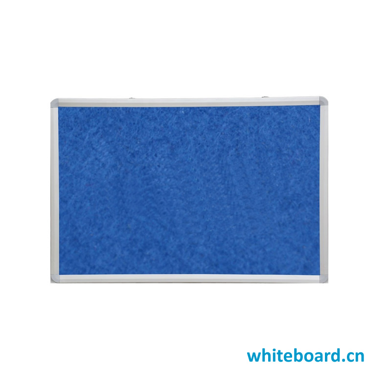 OEM Color Fabric Surface Message Notice Pin Board with Optional Size