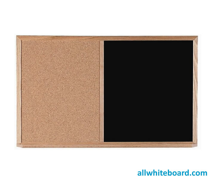 Wall Mounted Combination Bulletin Board