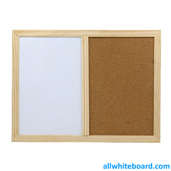 Whiteboard Cork Board Combination Magnetic Dry Erase Board