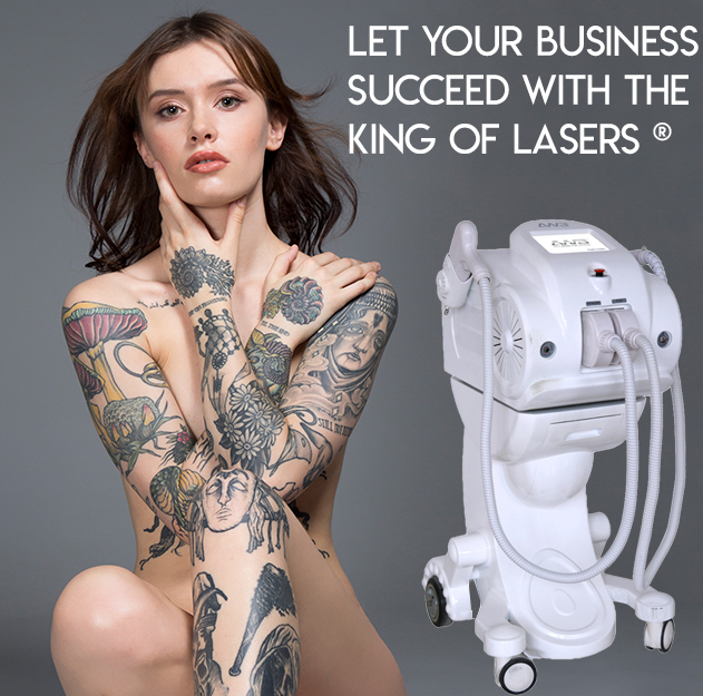 Tattoo Removal Machine - Allwhite Laser AW3®­