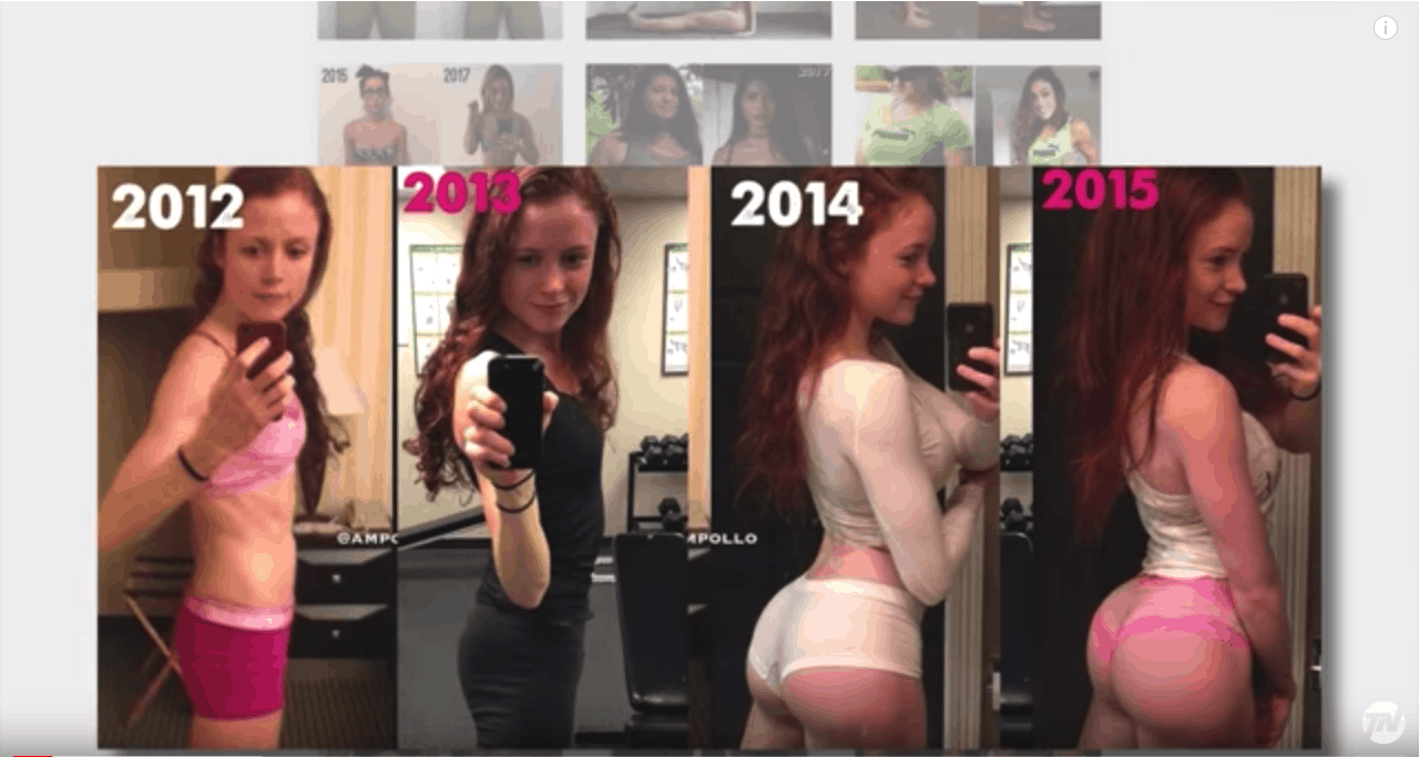 """Image result for woman before after muscle gain"""""""