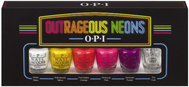 OPI Outrageous Neon collection
