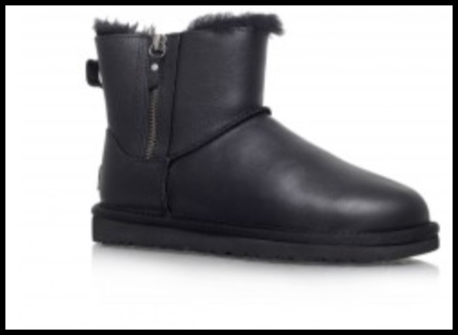 6d5587751a03 I have just seen that the short black leather Uggs I have are included in  the Kurt Geiger sale here. They're still not cheap at £89 but on a  cost-per-wear ...