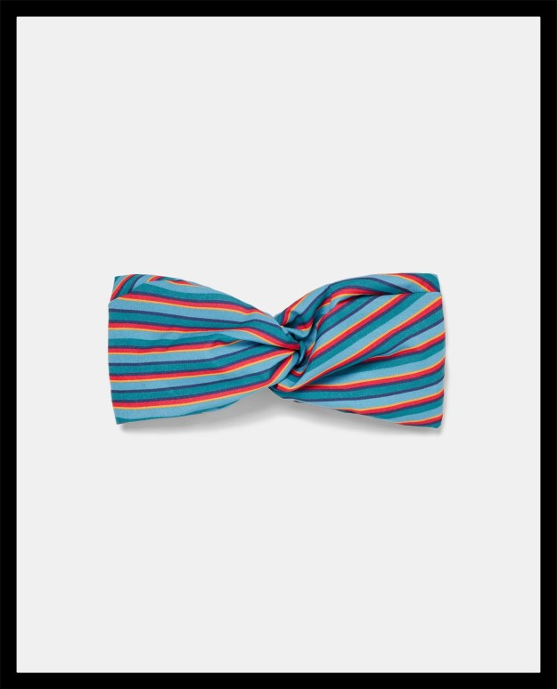 stripe headband zara