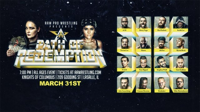Watch AAW Path Of Redemption 2018 3/31/2018 Full Show Online Free