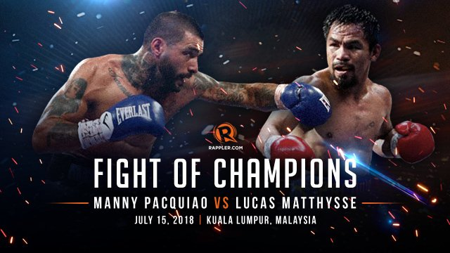 Watch Manny Pacquiao vs Lucas Matthysse Full Fight 7/15/2018 Full Show Online Free