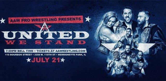 Watch AAW United We Stand 7/21/2018 Full Show Online Free