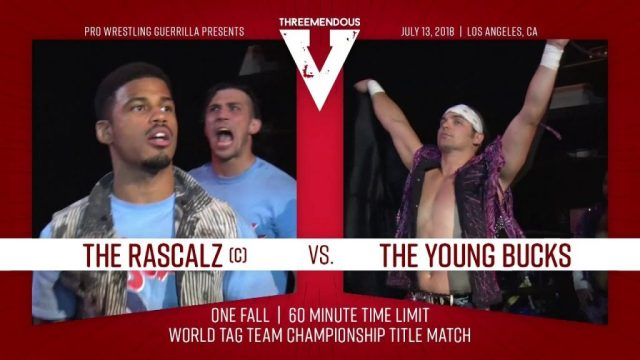 Watch PWG Threemendous V 7/13/2018 Full Show Online Free