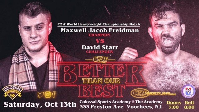 Watch CZW Better than our Best 10/13/2018 Full Show Online Free