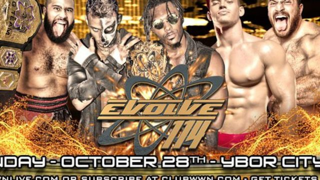 Watch Evolve Wrestling 114 10/28/2018 Full Show Online Free