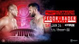 Watch Bellator 214: Fedor vs. Bader 1/26/2019 Full Show Online Free
