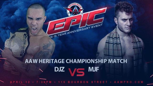 Watch AAW EPIC: The 15 Year Anniversary Show 4/12/2019 Full Show Online Free