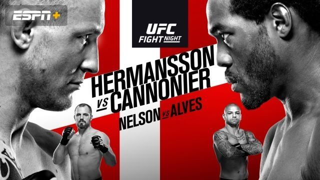 Watch UFC Fight Night 160: Hermansson vs. Cannonier 9/28/2019 Full Show Online Free