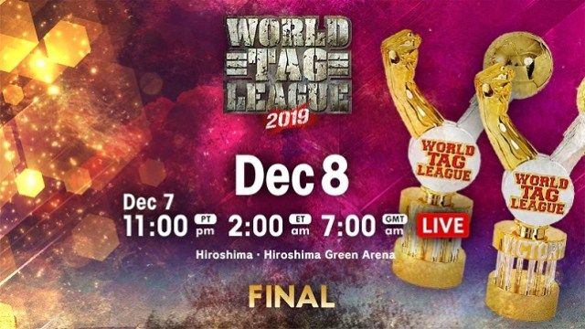 Watch NJPW World Tag League 2019 Final 12/8/2019 Full Show Online Free