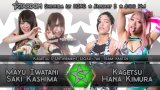 Watch Stardom New Years Stars Shin Kiba: Tag 2 1/3/2020 Full Show Online Free