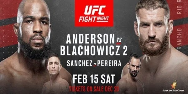Watch UFC Fight Night 167: Anderson vs. Błachowicz 2 2/15/2020 Full Show Online Free