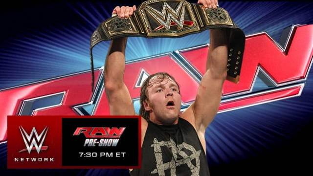 Watch WWE RAW 6/1/2015 Full Show Online 1st June 2015