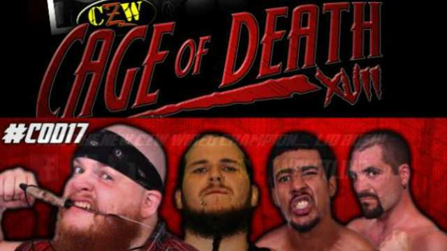 Watch CZW Cage of Death XVII 2015 Full Show Online Free