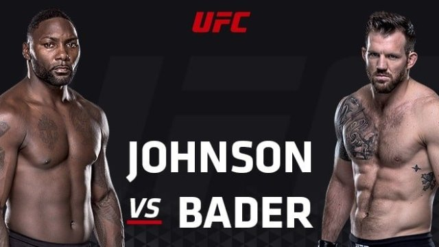 Watch UFC Fight Night: Johnson vs. Bader 1/30/2016 Full Show Online Free
