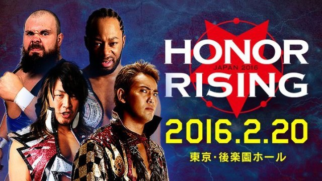 Watch NJPW ROH Honor Rising 2/20/2016 Day 2 Full Show Online Free