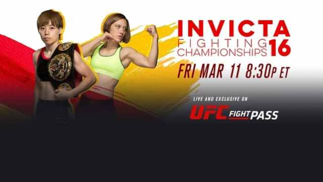Watch Invicta FC 16 3/11/2016 Full Show Online Free