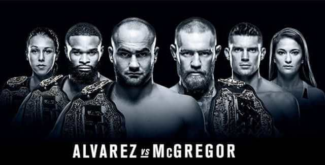 Watch UFC 205: Alvarez vs McGregor 11/12/2016 Full Show Online Free