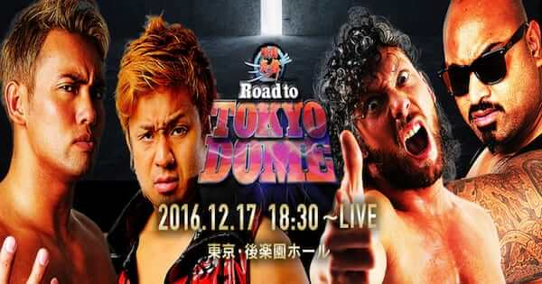 Watch NJPW Road to Tokyo Dome 12/17/2016 Full Show Online Free