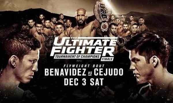 Watch The Ultimate Fighter Season 24 Finale 12/3/2016 Full Show Online Free