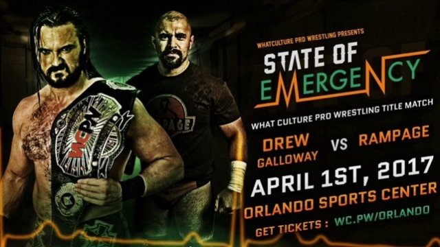 Watch WCPW State of Emergency 2017 4/1/2017 Full Show Online Free
