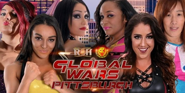 Watch ROH/NJPW Global Wars Pittsburgh 10/13/2017 Full Show Online Free