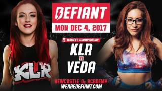 Watch Defiant Wrestling: We are Defiant 12/4/2017 Full Show Online Free