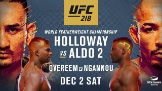 Watch UFC 218: Holloway vs. Aldo 2 12/2/2017 PPV Full Show Online Free