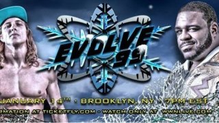 Watch Evolve Wrestling 99 iPPV 1/14/2018 Full Show Online Free