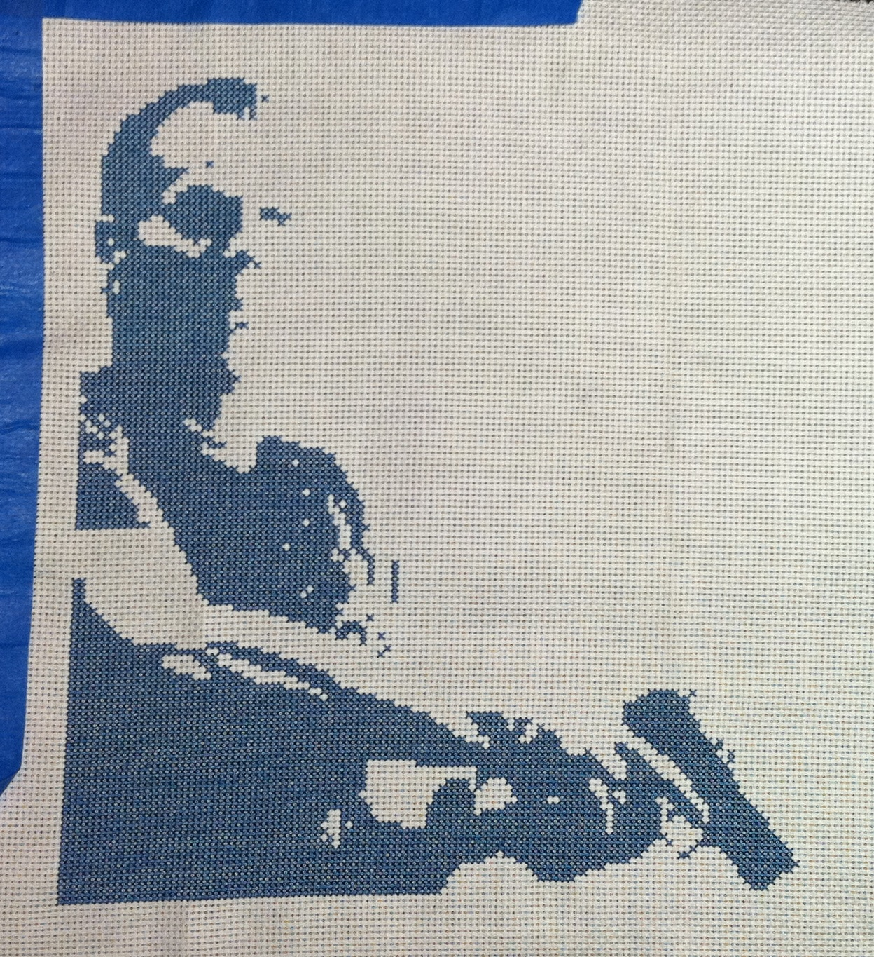 Jack Bauer Cross Stitch