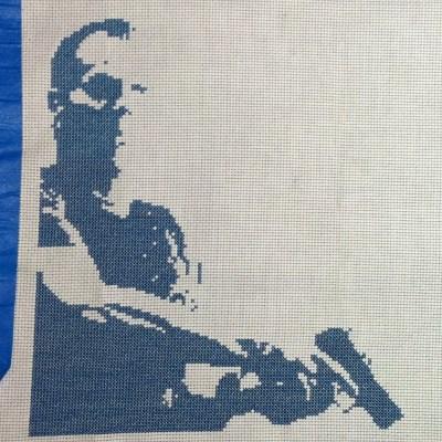 Jack Bauer Cross Stitch