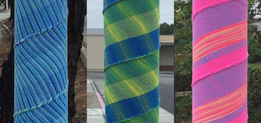 Cricket Loom Woven Yarnbombs